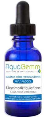 Aquagemm Articulations humains 50ml sans alcool