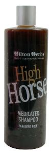 "Shampoing traitant ""High Horse"" pour chevaux"