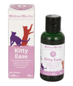 Kitty Ease soutient la digestion des chats